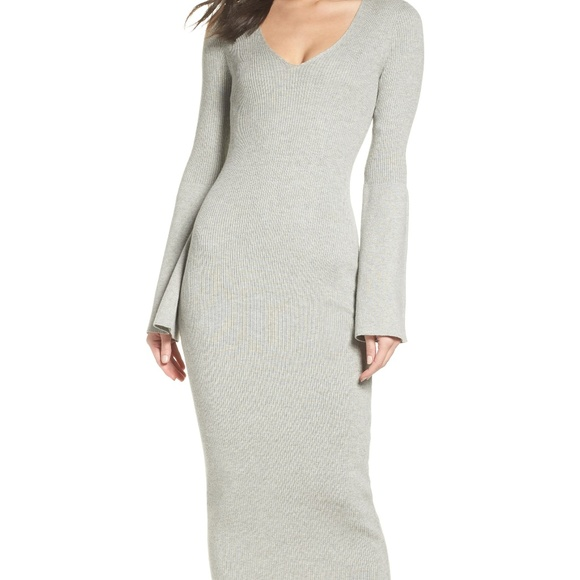 French Connection Dresses & Skirts - French Connection Virgie Knit Midi Dress